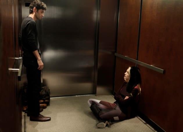 داستان عاشقانه ای زیبا در آسانسور