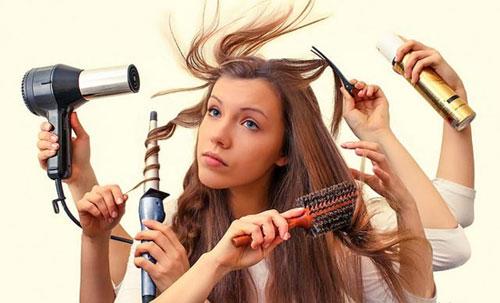 7 اشتباه روزانه که مو ها را پیر می کند!
