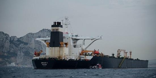 آمریکا حکم توقیف نفتکش «گریس ۱» را صادر کرد