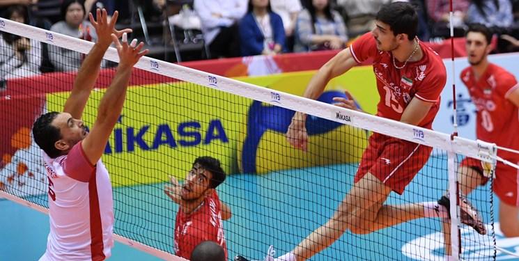 جامجهانی والیبال |  ایران 3 - تونس صفر؛ پیروزی راحت ایران مقابل قعرنشین