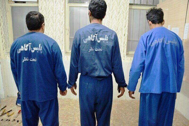 اعضای باند آدم ربایی در گناوه دستگیر شدند