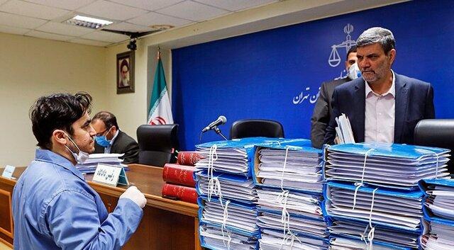 پنجمین جلسه محاکمه روح الله زم برگزار شد